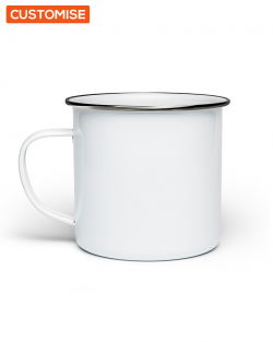 Custom Printed Enamel Mugs