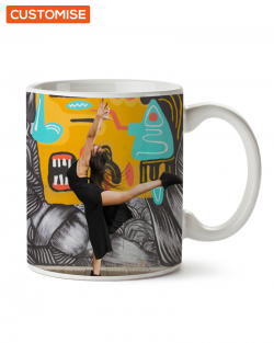 Full Colour Custom Printed Wraparound Mugs