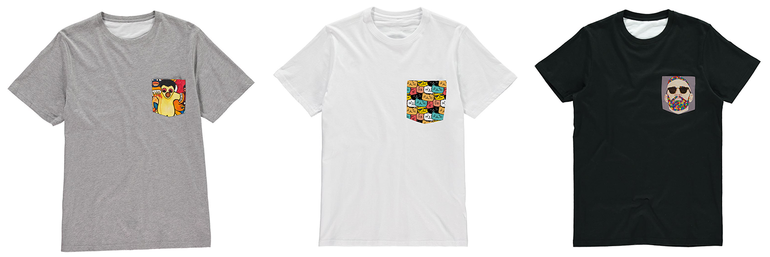 print on demand pocket tee