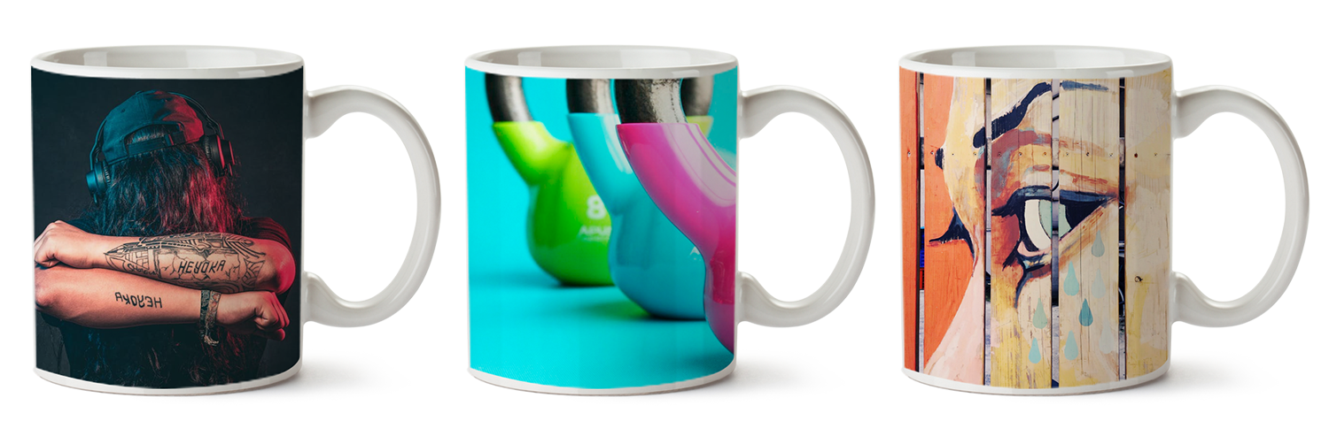 Custom Wraparound Mugs